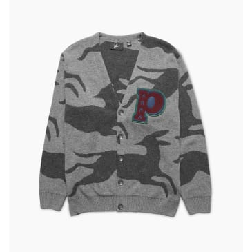 by Parra - jumping foxes knitted cardigan