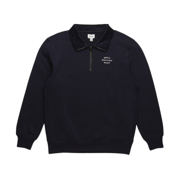 Rhythm James Quarter Zip Crew - Navy