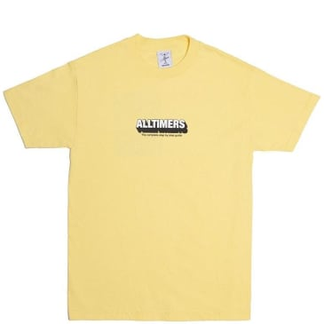 Alltimers Guide To Life T-Shirt - Banana