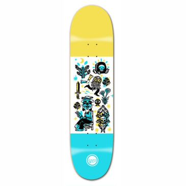 Roger Skate Co. Peace Dog Deck