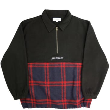 Yardsale Tartan Split Fleece - Black