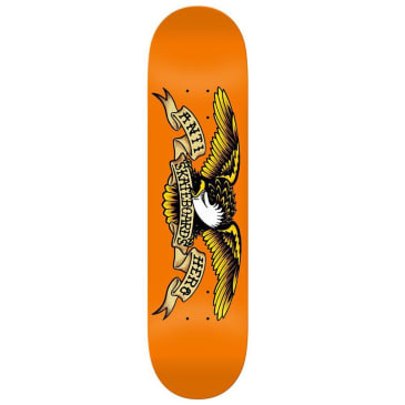 Anti Hero Classic Eagle Deck Orange - 9.00""