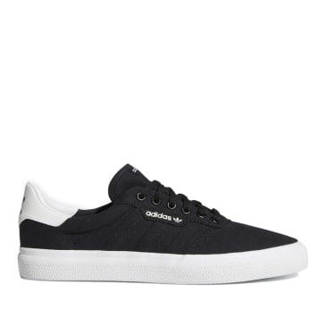 adidas Skateboarding 3MC Shoes - Core Black / Chalk White / Chalk White
