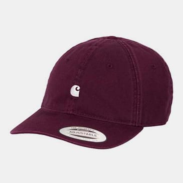 Carhartt WIP - Madison Logo Cap - Shiraz/Wax