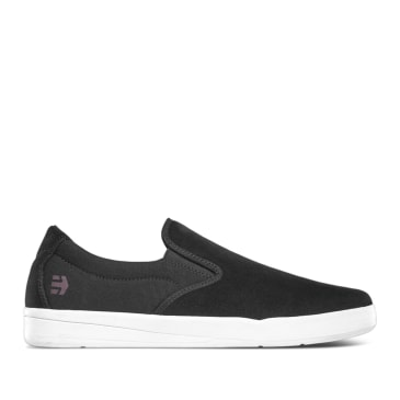 Etnies Veer Slip Skate Shoes - Black / White