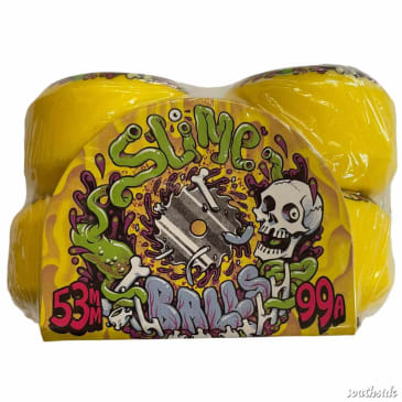Slime Balls Guts Speed Balls Yellow 53mm99A