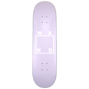 "WKND - Lavender Logo Board Skateboard Deck - 7.75"" | 8.25"" | 8.5"""