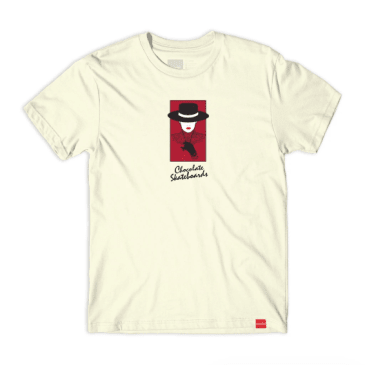 Chocolate Skateboards - Bolero T-Shirt - Cream
