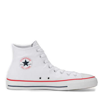 Converse CONS Chuck Taylor All Star Pro High Top Shoes - White / Red / Insignia Blue