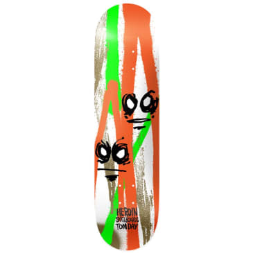 """Heroin Skateboards - Tom Day Call Of The Wild Deck 8.5"""" Wide"""