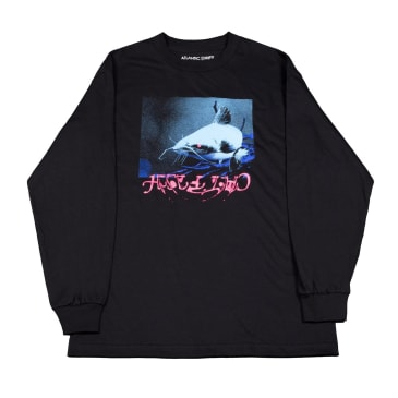 Atlantic Drift Catfish Long Sleeve T-Shirt - Black
