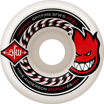 Spitfire Wides Mike Anderson Wheels 55mm