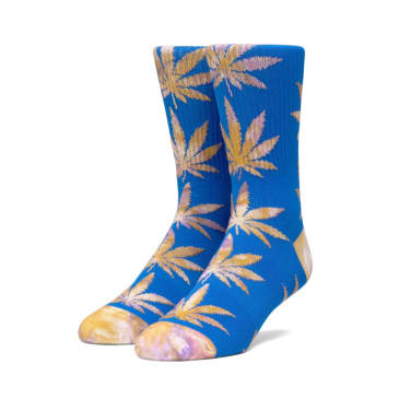 Huf Planlife Tie Dye Leaves Socks