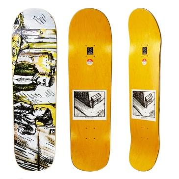 """Polar Skate Co Paul Grund Le Medusa Colour Skateboard Deck - 8.8"""" P8 Special Shape"""