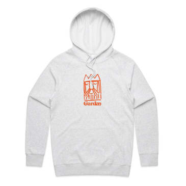 Garden King Ed Hooded Sweatshirt - Ash Grey