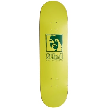 Blind Green And Yellow Girl Deck 8.5 Yellow