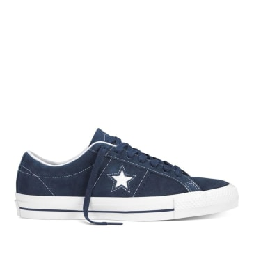 Converse CONS One Star Pro Ox Shoes - Navy / White