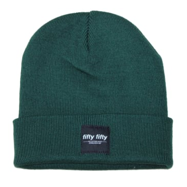 Fifty Fifty Trademark Beanie Forest Green.