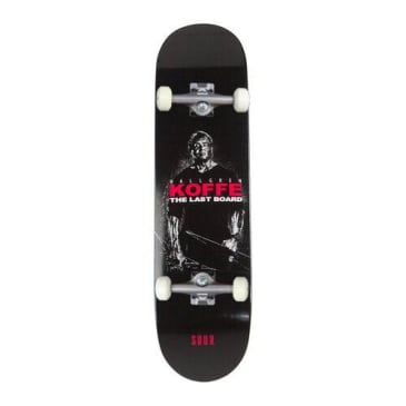 Sour Solution Koffe 'The Last Board' Complete Skateboard 8.25""
