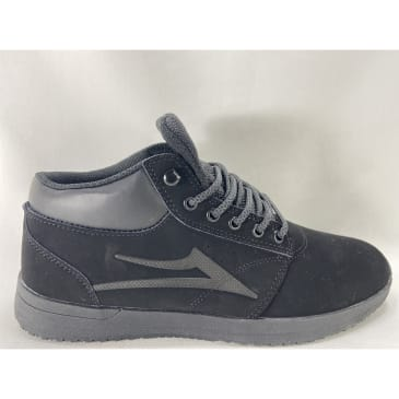 Lakai Griffin Mid All Weather All Black