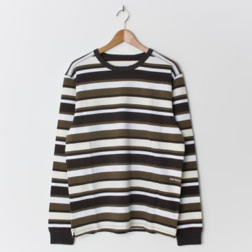 Pop Trading Company Co Stripe Long Sleeve T-Shirt - Multi