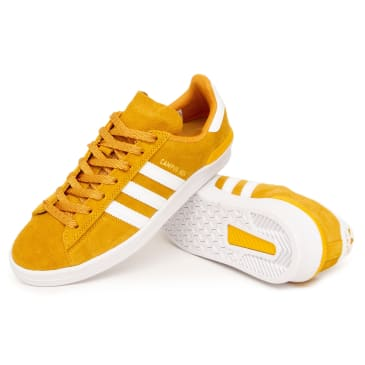 Adidas Campus ADV Shoes - Tactile Yellow/White/Gold