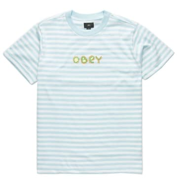Obey - Buggs T Shirt - Sky Blue Multi