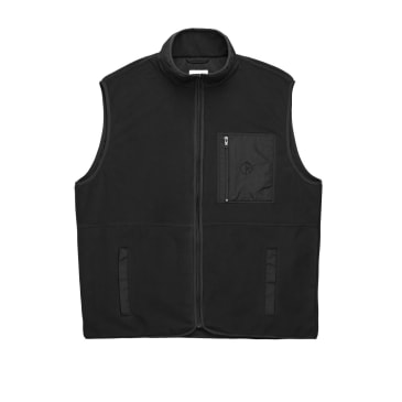 Polar Stenstrom Fleece Vest - Black