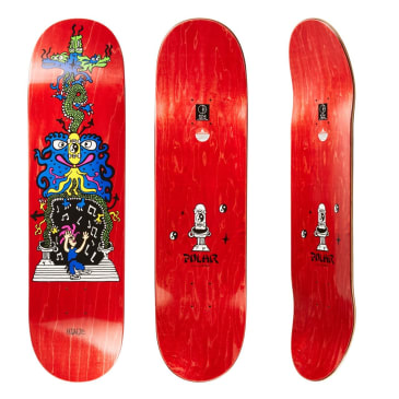 Polar Skate Co Hjalte Halberg Dragon Gate Skateboard Deck - 8.375""