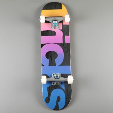 "Tricks 'Multicolor' 7.25"" Mini Complete Skateboard"