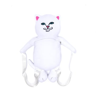 Rip N Dip Lord Nermal Plush Backpack - White