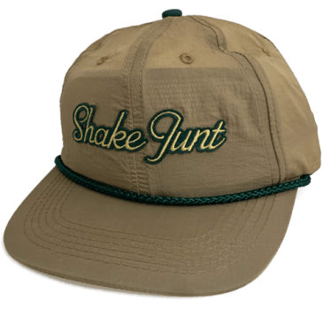 Shake Junt Dirty South Snapback Cap - Olive Green