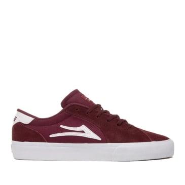 Lakai Flaco 2 Suede Skate Shoes - Burgundy