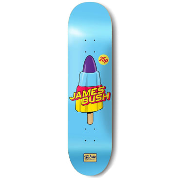 "Fabric Skateboards - James Bush Rocket Deck 8.5"" Wide"