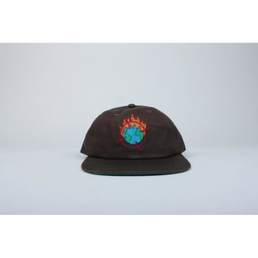 Theories Hat Worldwide Snapback Brown