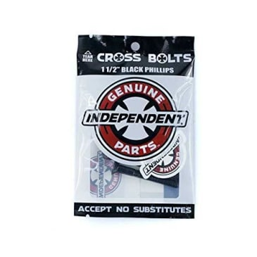 "Independent Trucks 1 1/2"" Phillips Bolts - Black"