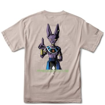 Primitive Shadow Beerus T-Shirt - Safari Green