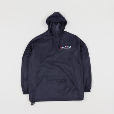 THRASHER KNOCK OFF ANORAK JACKET - NAVY