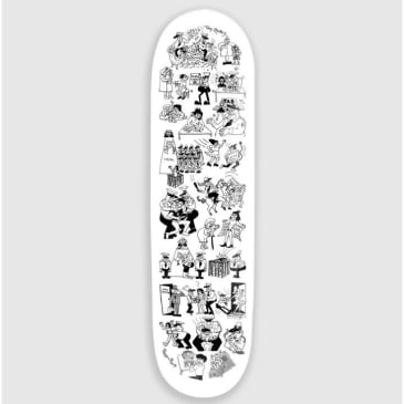 """Pass~Port Skateboards- Coppers Toby Zoates DECK 8.25"""""""