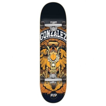 "Flip Gonzales Comix Complete Skateboard - 7.88"""