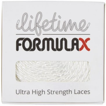 Lifetime Laces - Lifetime Laces Formula X Round White