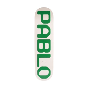 GX1000 Pablo Skateboard Deck Grey - 8.25""