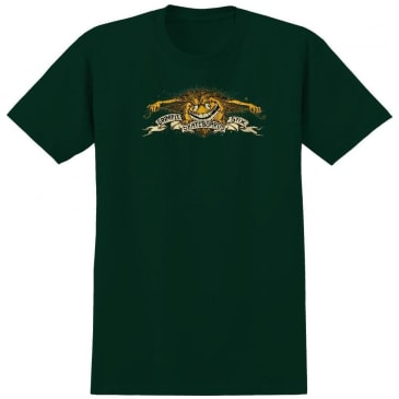 Antihero Grimple Stix Eagle T-Shirt - Forest Green