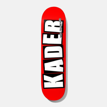 Baker Skateboards Kader Sylla Logo Skateboard Deck - 8.5""