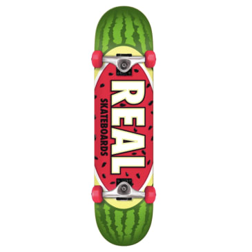 Real Skateboards Team Oval Watermelon Complete 7.5 (Beginner)