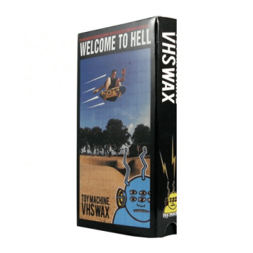 Toy Machine Welcome To Hell VHS Wax - Black