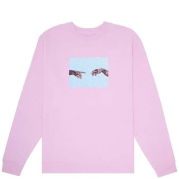 Fucking Awesome NAK Hands Sweatshirt - Light Pink