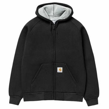 Carhartt WIP - Car Lux Hooded Jacket - Black/Grey