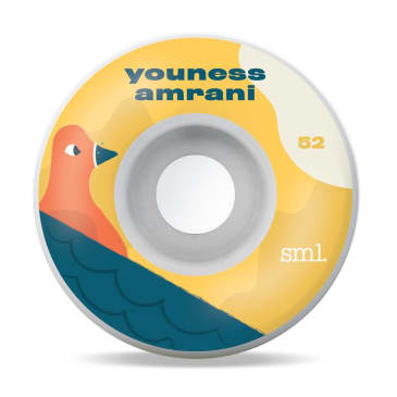SML. Wheels Youness Amrani 'Toonies' Series Wheels 52 MM 99 A