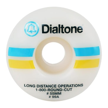 Dial Tone Bell South Round Skateboard Wheels